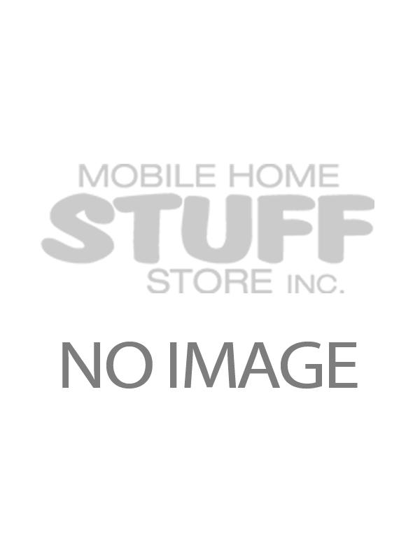 SIDEWALL EXHAUST FAN INSIDE GRILL WHITE DEXTER # V1031-46